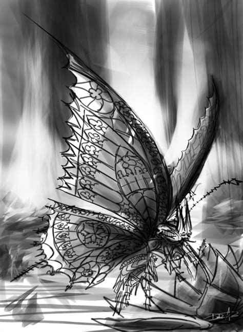 The Gothic Butterfly on Behance