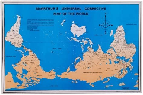 australian map of world how the ended up on top of the map al jazeera america