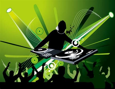 dj event poster templates free dj posters vector templates
