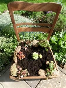 stuhl bepflanzen take a seat