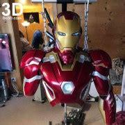 printable suit iron man mark xlv armor model mk