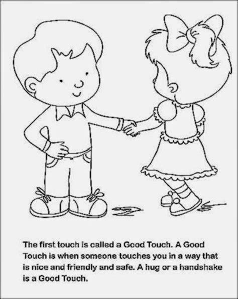 coloring book touch bad touch free coloring pages of bad touch touch