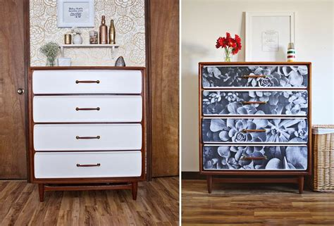 Diy Decoupage Dresser - diy furniture update an dresser with a photograph