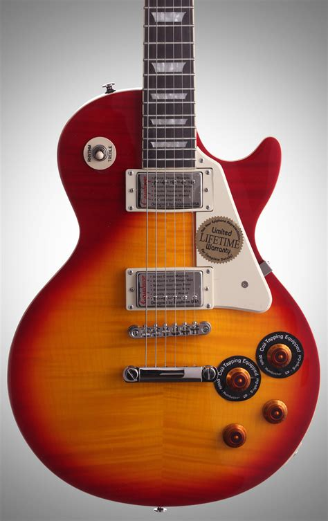 Gitar Elektrik Epiphone Les Paul Sunbrust epiphone les paul standard plustop pro electric guitar