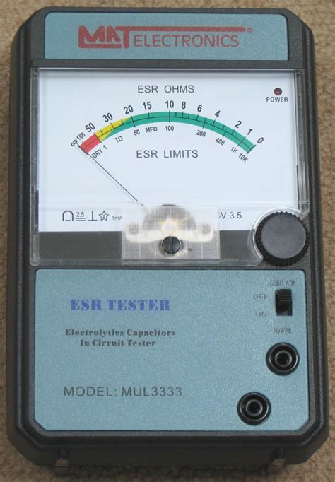 capacitor esr measurement methods modal title
