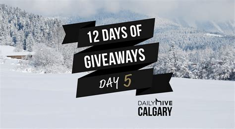 How To Get On 12 Days Of Giveaways Ellen De - 12 days of giveaways get a gift film buffs will love daily hive calgary
