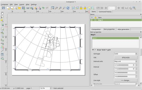 qgis print layout how to add grid coordinates in qgis 2 12 0 lyon in the