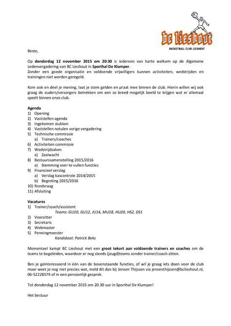 Officiele Briefformat Uitnodiging Vergadering Een Uitnodiging Maken