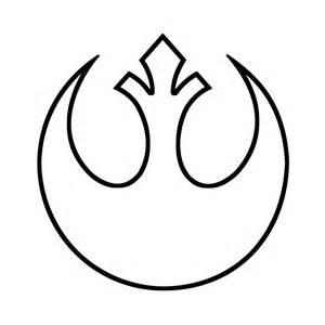 Wars Rebel Symbol Outline wars rebel alliance symbol outline decal for car laptop