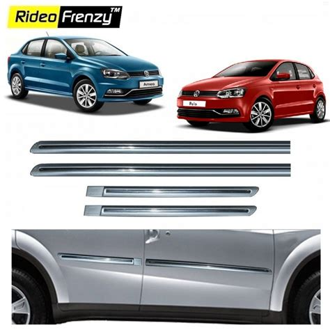 volkswagen ameo silver buy volkswagen polo ameo silver chromed side beading