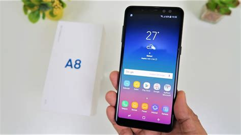 Harga Samsung A8 2018 Indonesia unboxing samsung galaxy a8 2018 indonesia
