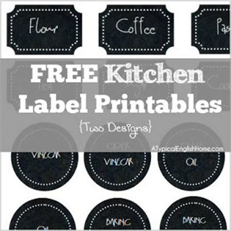 this designer cooks free printable canister labels features from dream to reality 65 the d i y dreamer