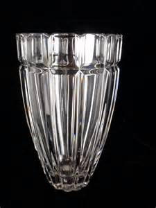 Antique Crystal Vases Abuzz Antiques And Collectibles Exquiste Heavy 24 Lead