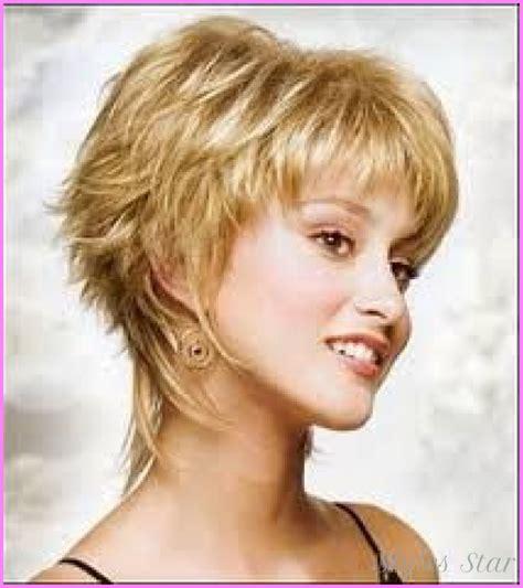 medium short layered haircuts style hairstyles