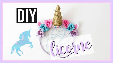 Diy Deco Chambre Facile by Diy Licorne Deco Chambre Kawaii Facile Unicorn Room