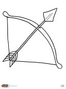 Indian Bow And Arrow Coloring Pages sketch template