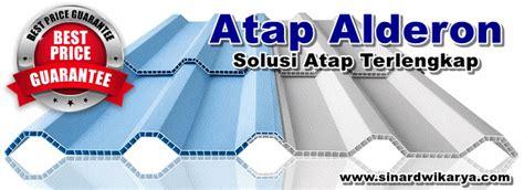 Alderon Atap Upvc Tahan Panas harga atap upvc alderon terbaru 2018