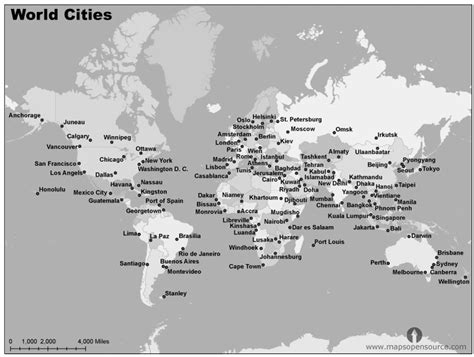 world map image black and white with country names free world cities map black and white cities map black