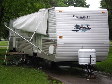 Trailer Awning by Protect Your Rv Awning Journal Rv Travel Newspaper