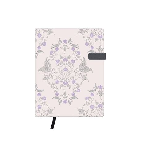Dreamy Pocket Notes note book a6 96sheets ruled garden book ribbon expandable inner pocket my book herlitz