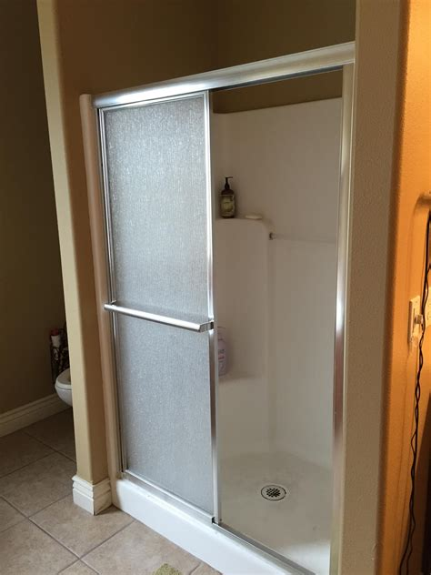 Fiberglass Bathroom Showers Interior One Fiberglass Shower Stalls Freestanding Linen Cabinet Frameless Medicine