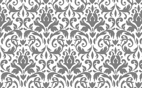 grey damask pattern damask desktop wallpapers wallpaper cave