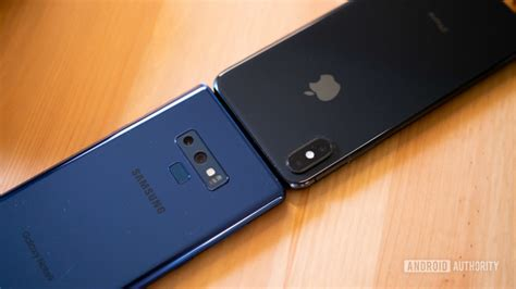 samsung galaxy note 9 vs iphone xs max which is worth your 1 000 android authority