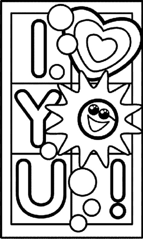 printable coloring pages that say i love you i love you coloring page crayola com