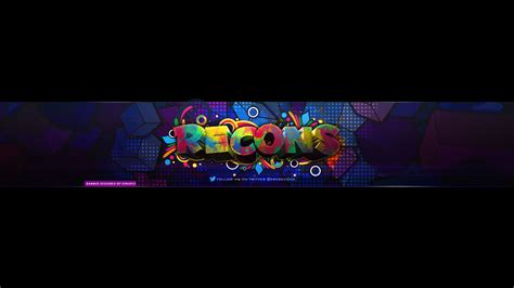 layout para banner do youtube era recons youtube banner by syruply on deviantart