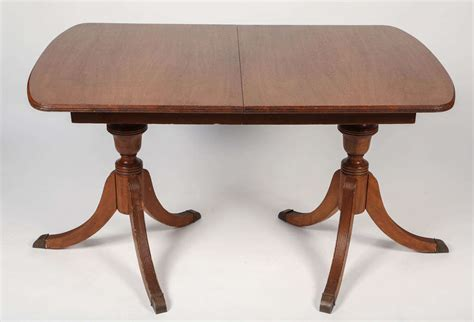duncan phyfe style mahogany dining table for sale at 1stdibs