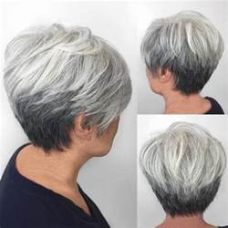 front and back pictures of hairstyles for gray hair 80 best modern haircuts hairstyles for women over 50