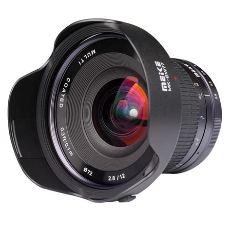 Meike 12mm F 2 8 Wide Angle Manual Focus Lens For