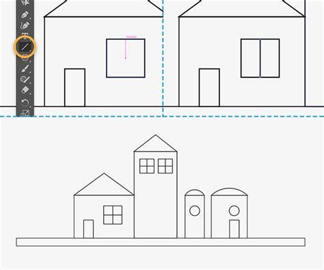illustrator draw horizontal line how to draw buildings in illustrator adobe illustrator