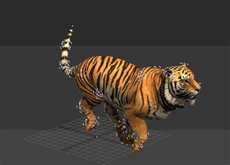 Running 3d Model