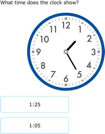 ixl | match analog clocks and times | 2nd grade math