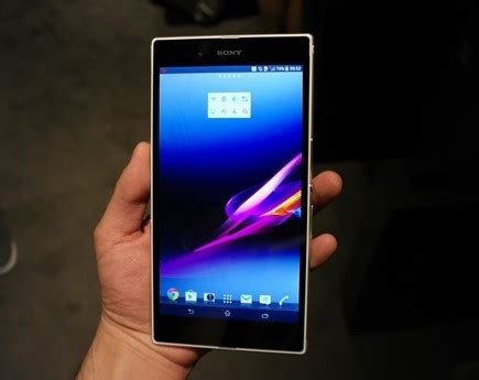 Tablet Sony Z Ultra review tablet pc sony xperia ultra z myseluler