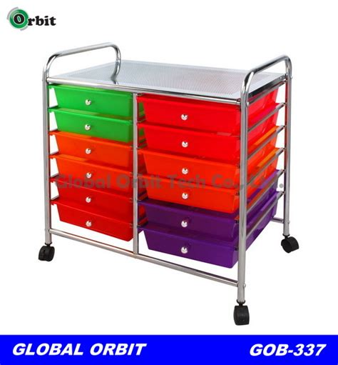 Plastic Cart With Drawers And Wheels by 10 Tier Plastic Storage Drawer Cart Salon Rolling