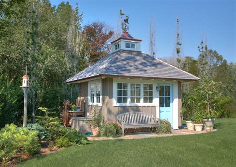 Houzz Garden Sheds by Garden Shed Traditional Garage And Shed Bridgeport By Ck Architects