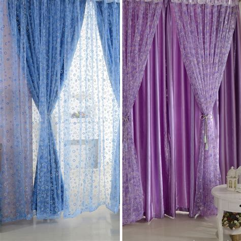 circle pattern curtains circle pattern room voile window curtains sheer panel