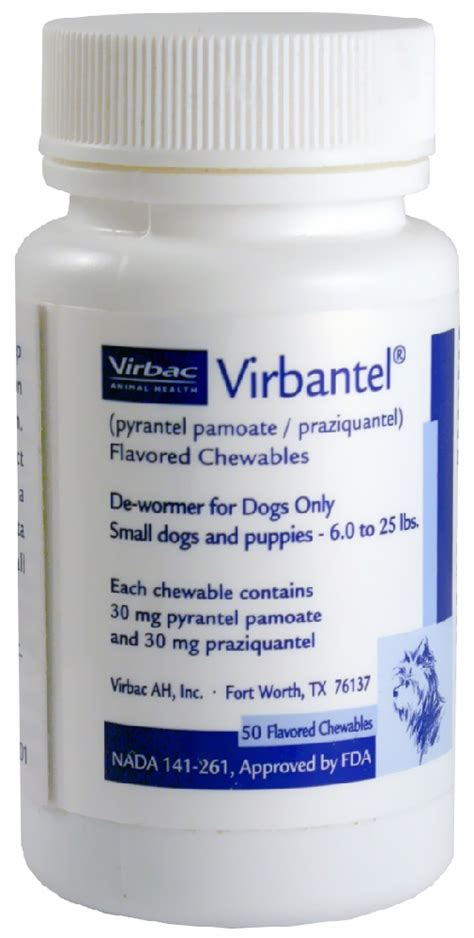 the counter dewormer for dogs virbantel