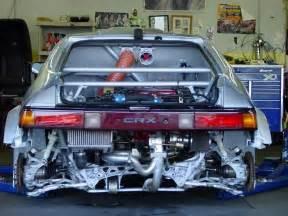 crx with nsx motor honda honda and motors