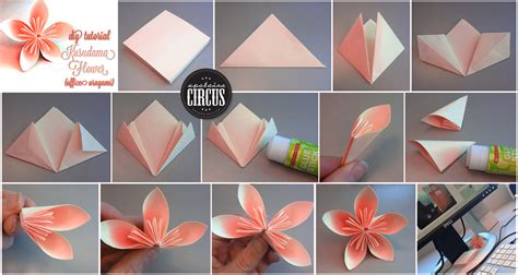 Flower With Paper Step By Step - diy vik vackra kusudama blommor bautawitch