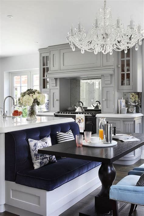 30 Kitchen Islands With Seating And Dining Areas Digsdigs Kitchen Island With Built In Seating