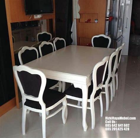 Meja Makan Enam Kursi kursi meja makan busa modern rizki raya mebel