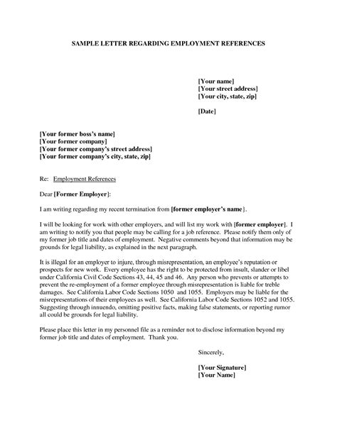 Reference Letter For Employee From Manager Template Update 21807 Exles Of Reference Letters For Employment 35 Documents Bizdoska