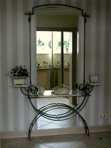Iron Decorations For The Home by Wrought Iron Mirror L Essenziale