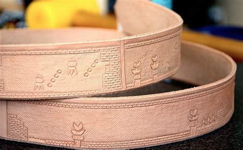 mario bros level leather belt pic global