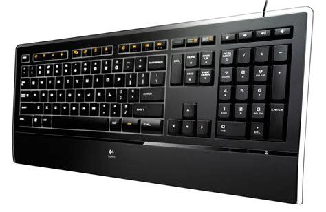 Logitech Illuminated Keyboard logitech goes thin with the illuminated keyboard