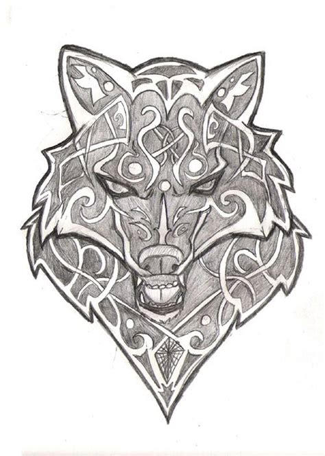 25 beautiful viking ideas on collection of 25 viking wolf design