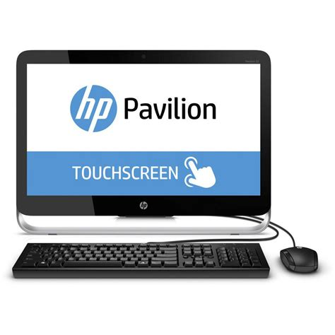 Hp Pavilion All In One 23 P250na Touch Screen Staples 174 Staples Desk Top Computers